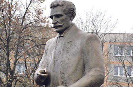 Odsłonięcie pomnika Ignacego Daszyńskiego