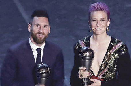 Messi po raz szósty