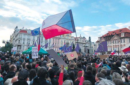 Ćwierć miliona Czechów demonstruje