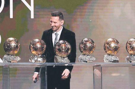 Messi ze Złotą Piłką