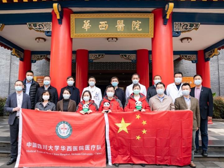 Pięciu chińskich ekspertów z Syczuan będzie pomagać Włochom w zwalczaniu COVID-19