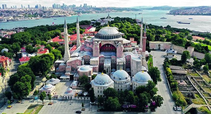 Hagia Sofia jako święta turecka