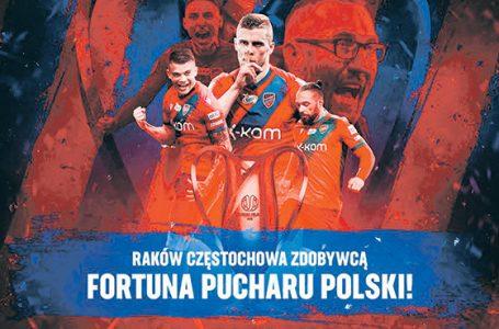 Raków z Pucharem Polski